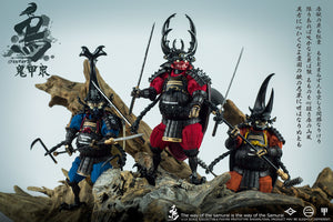 Crowtoys Samurai Beetle Haunted Hollow, Brave Airo & Dshitra 1/12 Scale Figures 3 Pack Set