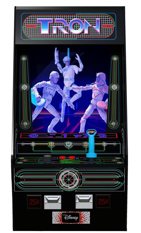 Diamond Select Toys Tron Electronic Arcade Style PX Previews Exclusive Box Set