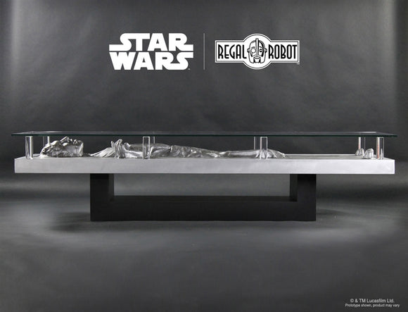 Regal Robot Official Licensed Star Wars Furniture Han Solo in Carbonite Coffee Table