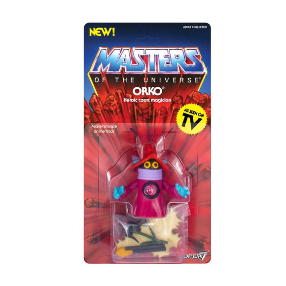 Super7 Masters of the Universe Vintage Wave 3 Collction Orko Action Figure