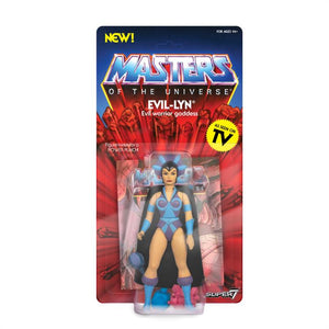 Super7 Masters of the Universe Vintage Wave 4 Collction Evil-Lyn Action Figure