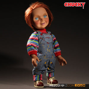 Mezco Toyz Child's Play Mega Scale Talking Good Guys Chucky Figure
