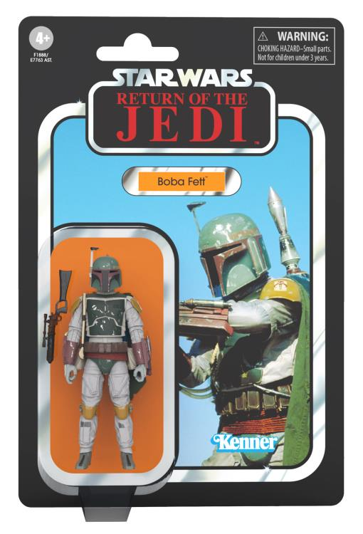 Hasbro Star Wars The Vintage Collection Boba Fett (Return of the Jedi) Figure