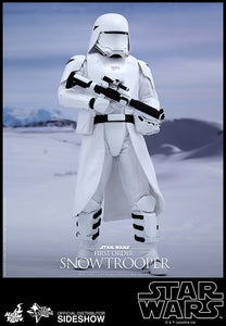"Hot Toys Star Wars Episode VII The Force Awakens First Order Snowtrooper 1/6 Scale 12"" Figure"