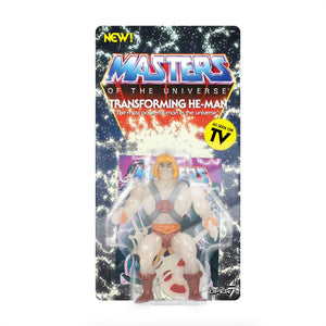 Super7 Masters of the Universe Vintage Wave 4 Collction Transforming He-Man Action Figure