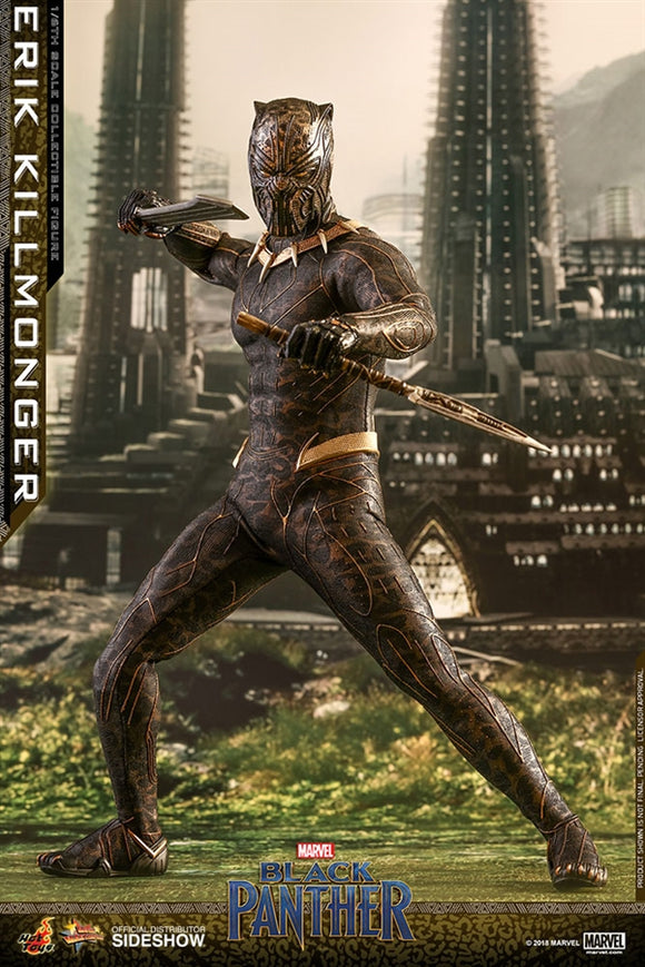 Hot Toys Marvel Black Panther Erik Killmonger 1/6 Scale 12