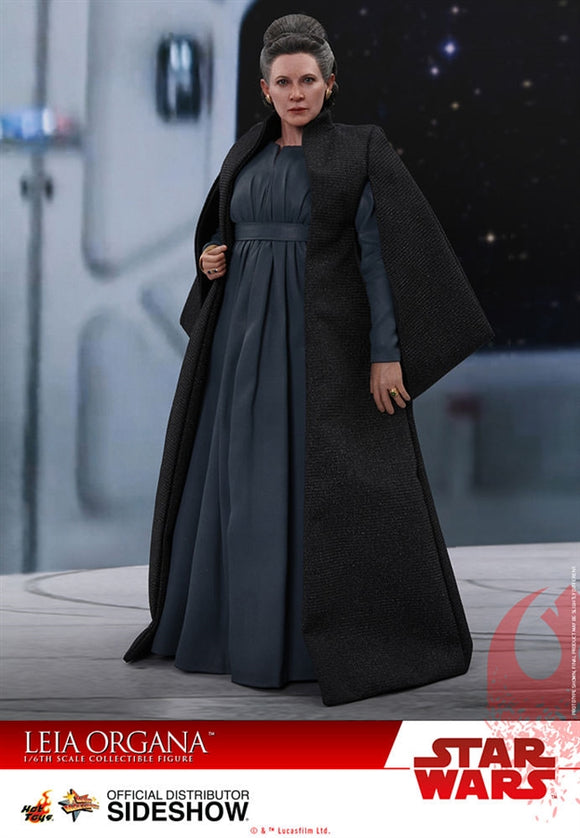 Hot Toys Star Wars: The Last Jedi Leia Organa 1/6 Scale Figure