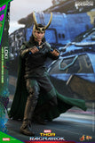 "Hot Toys Marvel Thor: Ragnarok Loki 1/6 Scale 12"" Action Figure"