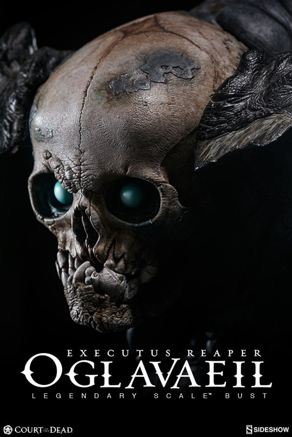 Sideshow Court of the Dead Collectibles Executus Reaper Oglavaeil Legendary Scale Bust