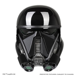 ANOVOS Star Wars: Rogue One Death Trooper Helmet Prop Replica Helmet Completed Ready to Wear Helmet