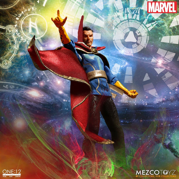 Mezco Toyz One12 Collective Marvel Comics Dr. Strange 1/12 Scale 6