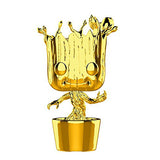 Funko Pop Marvel Studios 10th Anniversary Guardians of the Galaxy Dancing Groot (Gold Chrome) Figure