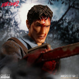 "Mezco Toyz One:12 Collective Ash from Evil Dead 2 1/12 Scale 6"" Action Figure"