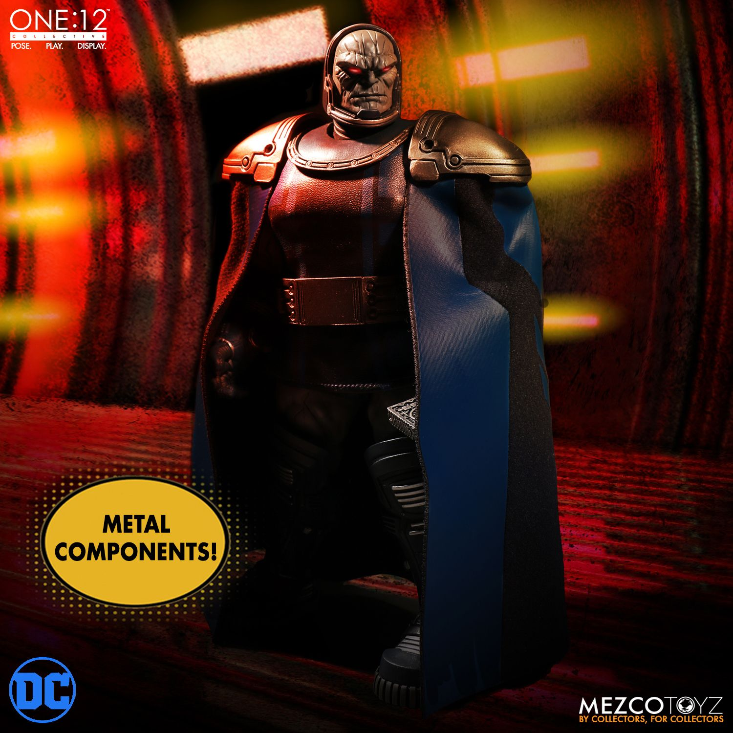 Mezco Toyz One:12 Collective DC Comics Darkseid 1/12 Scale