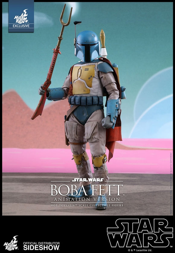 Hot Toys Star Wars Boba Fett (Animation Version) 1/6 Scale 12