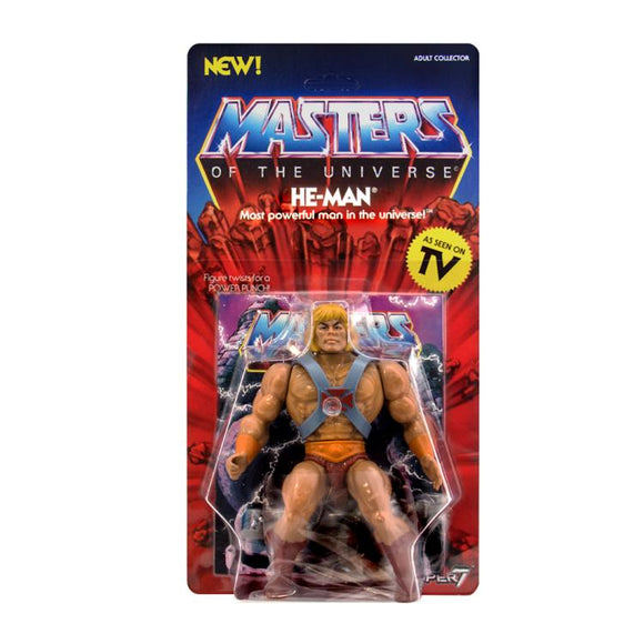 Super7 Masters of the Universe Vintage Wave 1 Collction He-Man Action Figure