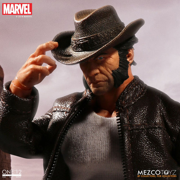Mezco Toyz One:12 Collective Marvel Comics Logan Wolverine 1/12 Scale 6