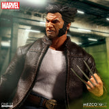 "Mezco Toyz One:12 Collective Marvel Comics Logan Wolverine 1/12 Scale 6"" Action Figure"