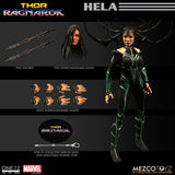 Mezco Toyz One:12 Collective Marvel Comics Thor Ragnarok Hela 1/12 Scale Action Figure