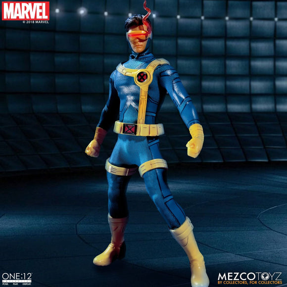 Mezco Toyz One:12 Collective Marvel Comics X-Men Cyclops 1/12 Scale Action Figure