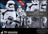 "Hot Toys Star Wars Episode VII The Force Awakens First Order Stormtrooper (Squad Leader Exclusive) 1/6 Scale 12"" Figure"