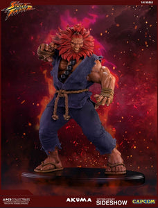 Pop Culture Shock Street Fighter Collectibles Akuma 1/4 Scale Polystone Statue