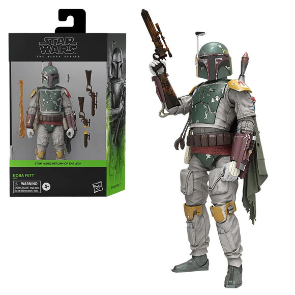 Hasbro Star Wars The Black Series Boba Fett Deluxe 6-Inch Action Figure