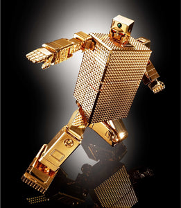 Bandai Soul Of Chogokin GX-32R Gold Lightan 24-Karat Gold Plating Ver. Gold Lightern Figure