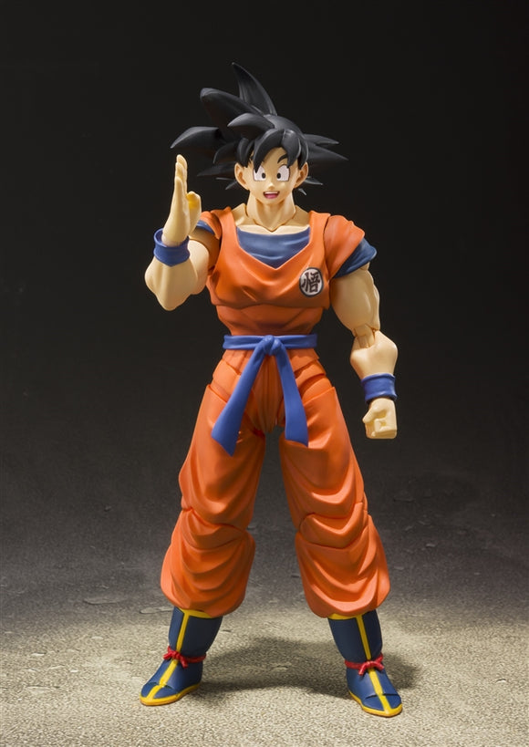 Bandai S.H.Figuarts Son Goku -A Saiyan Raised On Earth- Dragon Ball Z Figure