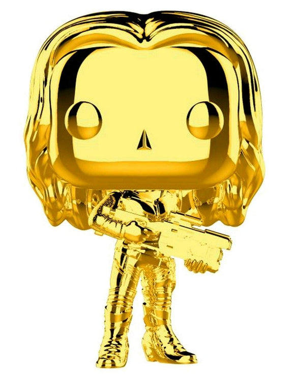 Funko Pop Marvel Studios 10th Anniversary Gamora (Gold Chrome) Figure