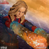 Mezco Toyz One:12 Collective Marvel Comics Captain Marvel 1/12 Scale Action Figure