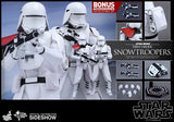 "Hot Toys Star Wars Episode VII The Force Awakens First Order Snowtroopers 2 Pack 1/6 Scale 12"" Figure Set"