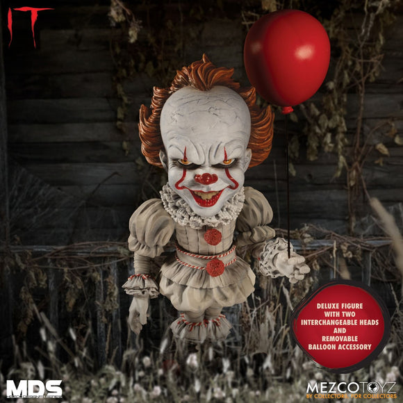 Mezco Toyz Designer Series Deluxe IT: Pennywise Action Figure