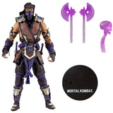 McFarlane Mortal Kombat Series 5 Action Figure Set of 4 Liu Kang, Shao Kahn, Scorpion in the Shadows Variant & Sub-Zero Winter Purple Variant