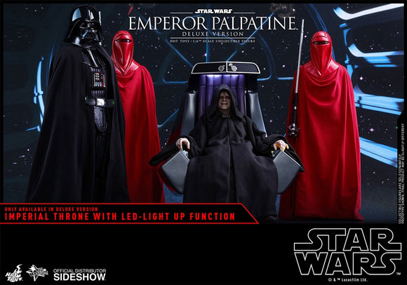 Hot Toys Star Wars Episode VI Return of the Jedi Emperor Palpatine (Deluxe Version) 1/6 Scale Figure