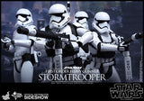 "Hot Toys Star Wars Episode VII The Force Awakens First Order Stormtroopers 2 Pack Set 1/6 Scale 12"" Figure"