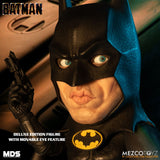 "Mezco Toyz Designer Series Deluxe Batman (1989) 6"" Action Figure"
