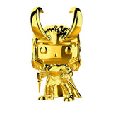 Funko Pop Marvel Studios 10th Anniversary Thor Ragnarok Loki (Gold Chrome) Figure
