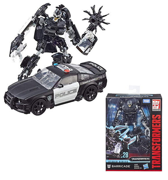 Hasbro Transformers Studio Series Deluxe Class Transformers Barricade