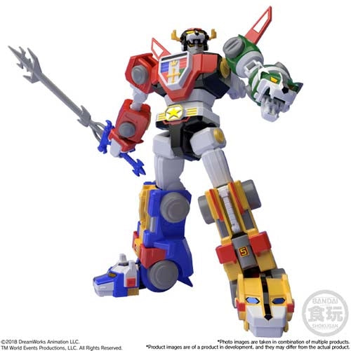 Bandai Japan Voltron: Defender of the Universe Super Mini-Pla Voltron Figure
