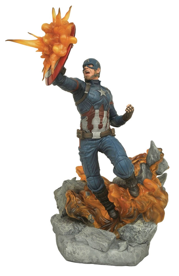 Marvel Milestones Civil War Movie Captain America Statue