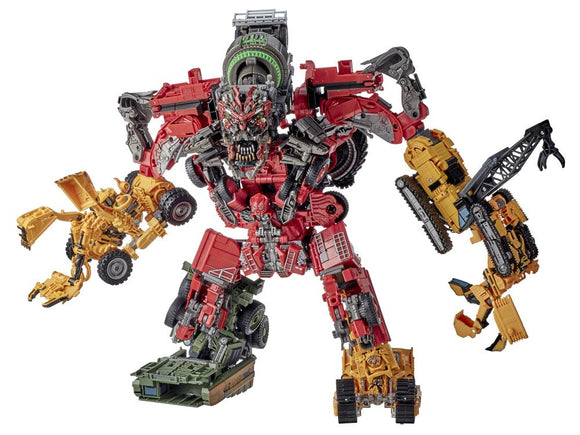 Hasbro Transformers Studio Series 69 Devastator Eight-Pack Action Figure Set