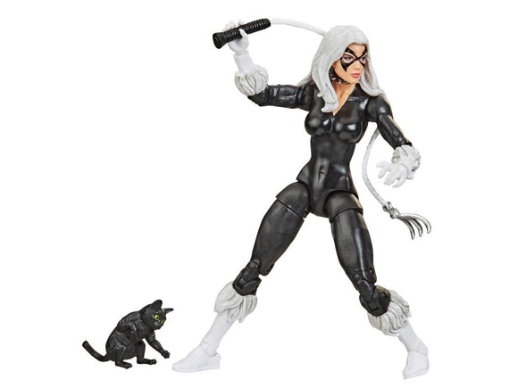 Hasbro Marvel Legends Spider-Man Retro Collection Black Cat 6-Inch Action Figure