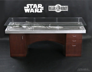 Regal Robot Official Licensed Star Wars Furniture Han Solo in Carbonite Office Desk Table