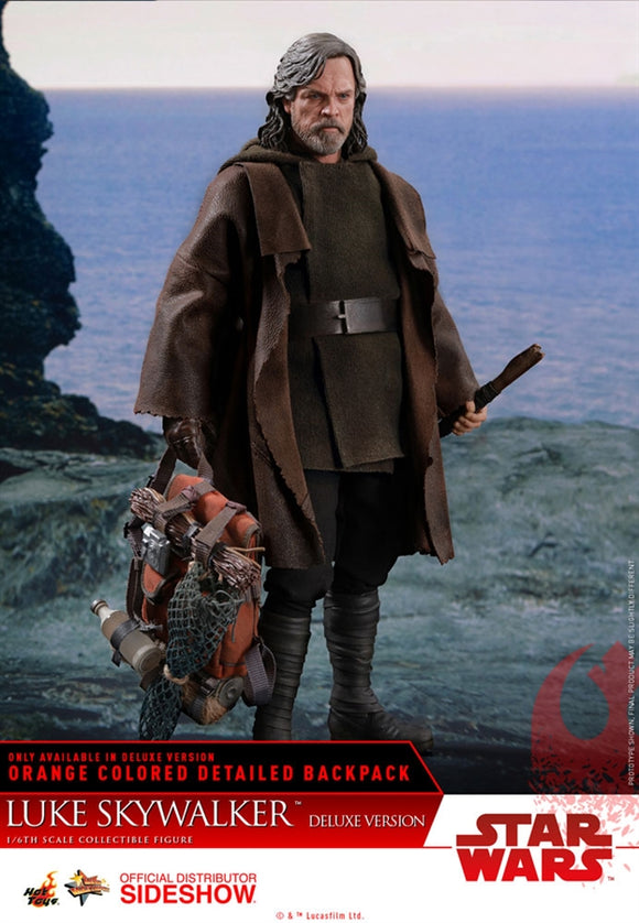 Hot Toys Star Wars: The Last Jedi Luke Skywalker (Deluxe Version) 1/6 Scale 12