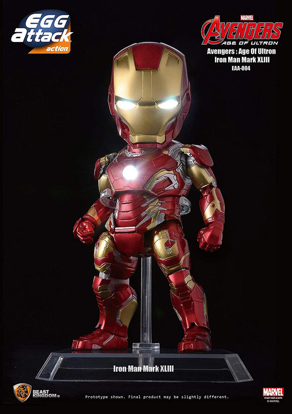 Beast Kingdom Egg Attack Action EEA-004 Avengers Age of Ultron Iron Man Mark 43