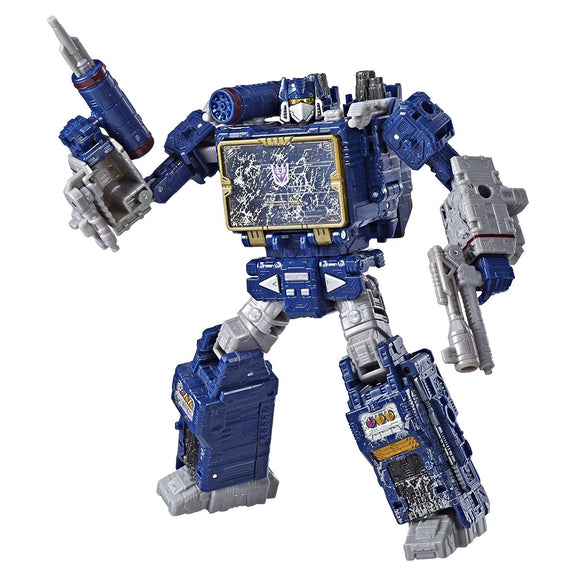 Transformers War for Cybertron: Siege Voyager Soundwave