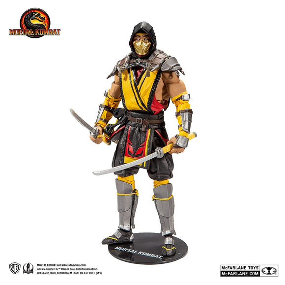 McFarlane Toys Mortal Kombat XI Series 1 7-Inch Action Figure Scorpion