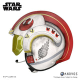 ANOVOS Star Wars Luke Skywalke Rebel Pilot Helmet Accessory Full Size Helmet Prop Replica