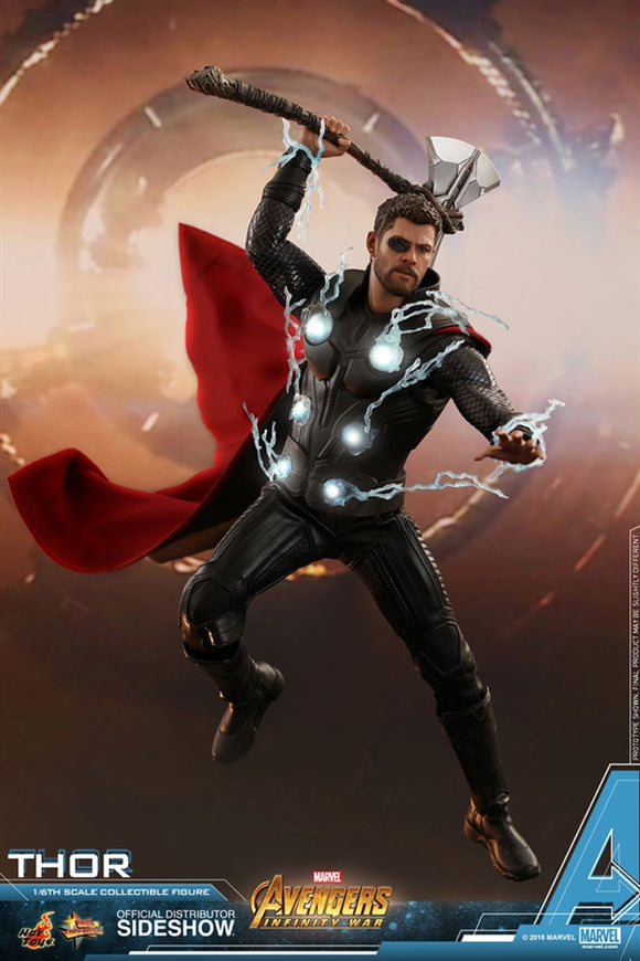 Hot Toys Marvel Avengers Infinity War Thor 1/6 Scale Figure